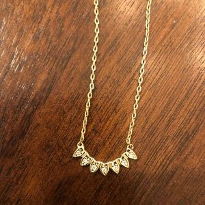 Stella  & Dot Aurora gold necklace